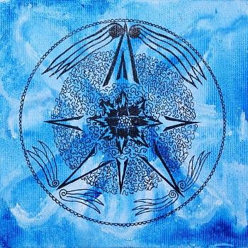 Mandala Eagle-Garudy