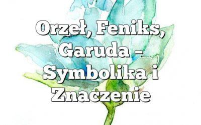 Orzeł, Feniks, Garuda – Symbolika i Znaczenie
