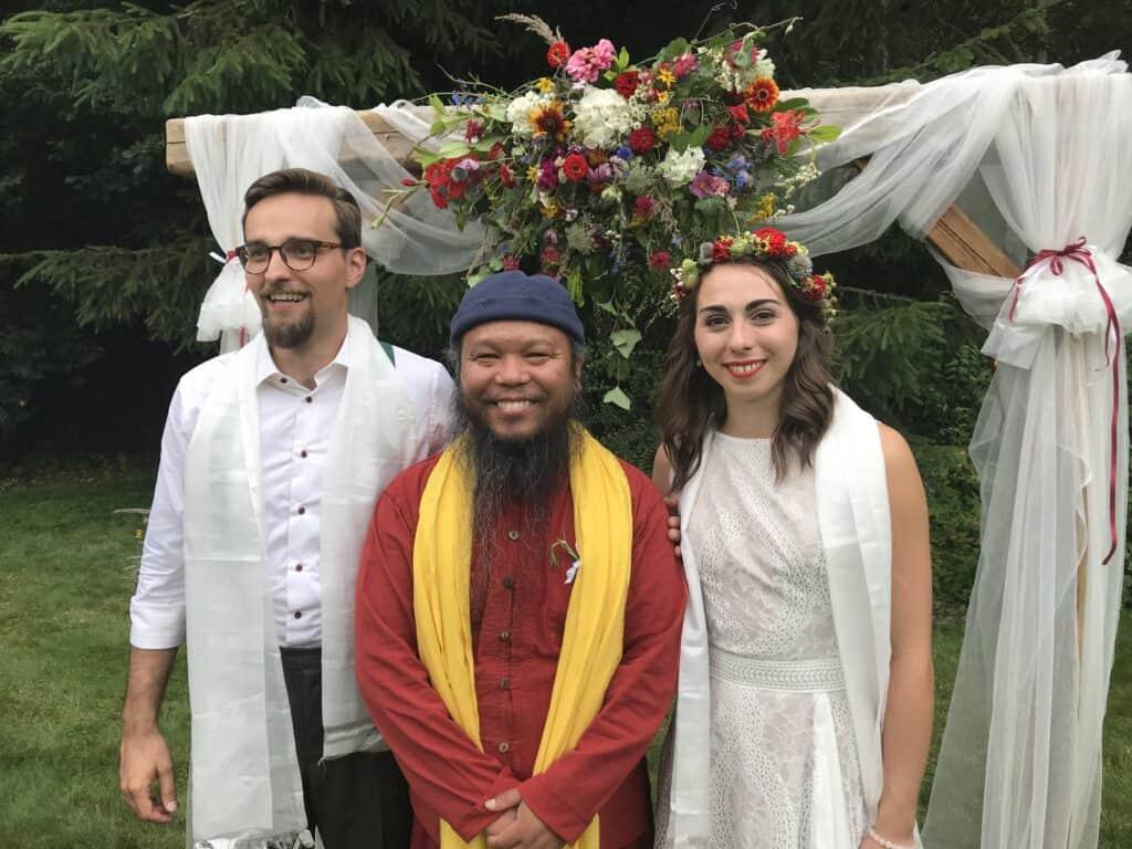 ślub wesele buddyzm
